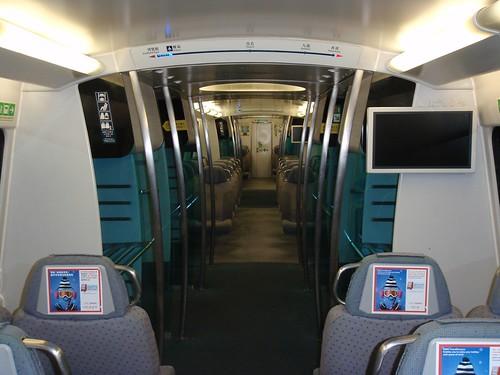 Tren de alta velocidad del aeropuerto
