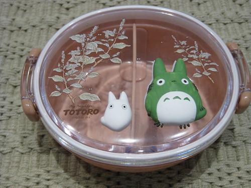 new Totoro bento box