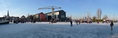 Ijspret Monnickendam (Remko van Dokkum) Tags: en haven ice zeilen boot iceskating natuur boten skate zeil ijs schaatsen zeilboot monnickendam schaats ijspret koek natuurijs zopie koekenzopie ijszeilen ijszeilboten ijszeilboot