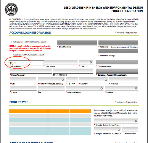LEED Registration pdf