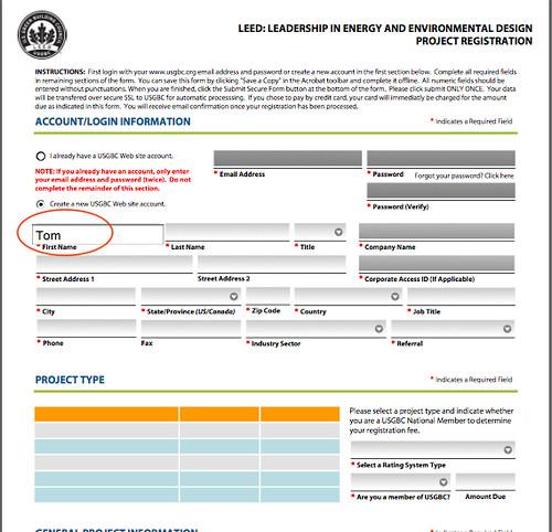 LEED Registration pdf