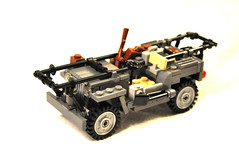 """Willys MB Jeep Ambulance """"Stella"""" (The Ranger of Awesomeness) Tags: lego jeep wwii brickarms willysmb"""