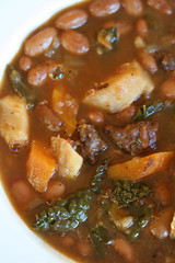 Winter Minestrone close