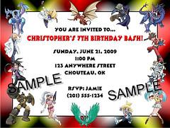 Bakugan Birthday Invitation (Kid's Birthday Parties) Tags: birthday party kids child invitation partysupplies birthdayinvitation bakugan personalizedinvitation bakuganbirthday bakuganparty bakuganinvitation bakuganpersonalizedinvitation