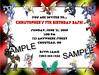 Bakugan Birthday Invitation