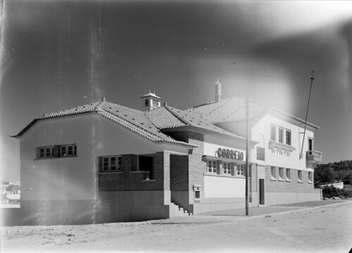 Estação dos Correios, Loulé (Esttúdio de M. Novais, s.d.)
