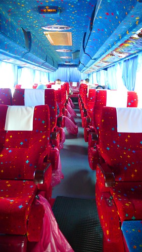 amazing bus to KL