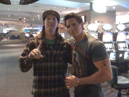 Zak Bagans of Ghost Adventures and DK in Luxor at 3am