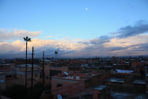 Marrakesh sunset