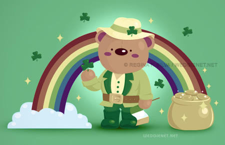 saint patricks day wallpapers. Irish Bear desktop wallpaper · Irish Bear. With St. Patrick's Day coming up,
