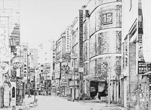 Tokyo Simple Drawing Image
