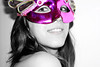 Máscara 1 (luciagalant) Tags: white black girl smile mouth cool nice eyes pretty mask bonita carnaval sonrisa largo beatiful pelo máscara