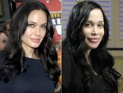 Nadya Suleman, Angelina Jolie