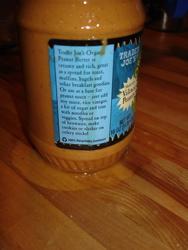 Icky peanut oil