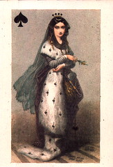 The Queen of Spades (Miranda918) Tags: playing queen card spades of
