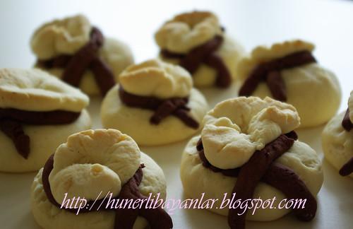 Cevizli Bohça kurabiye