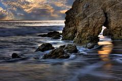 It's All A Dream (Matthew Bohrer) Tags: blue orange beach losangeles rocks malibu slowshutter ghostly hdr elmatador mattbohrer matthewbohrer mattbohrerphotography matthewbohrerphotography