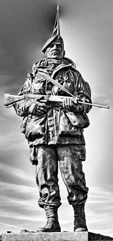 Royal Marine Museum Statue