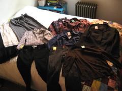 clothes thrift score haul