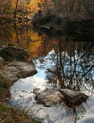 (FLSmith) Tags: statepark autumn reflection fall nc durham northcarolina durhamnc enoriver naturesfinest colourartaward platinumheartaward springoutsidetnc09