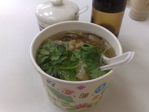 Mushroom and Meat Soup