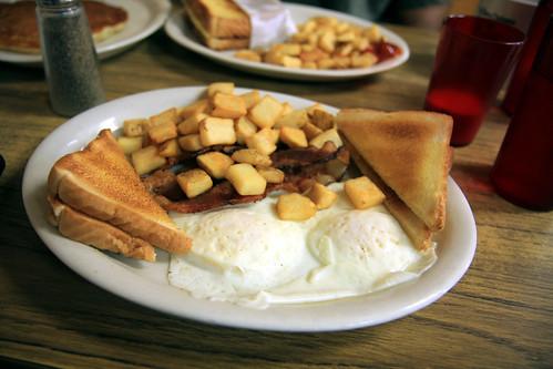 Breakfast at Stephens Gap