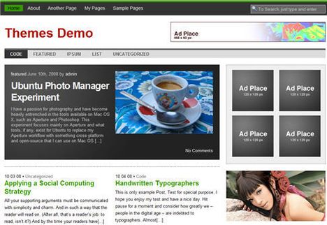 Hamasaki Wordpress Theme