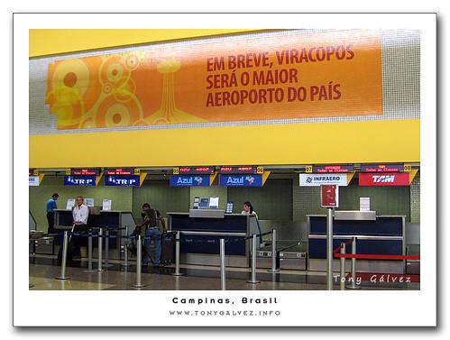 aeropuerto de Viracopos, Campinas, Brasil