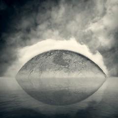 Rise of the Earth (Olli Kekäläinen) Tags: sky cloud reflection water photoshop square nikon earth 100v10f 2009 d300 palabra supershot mywinners ok6 ollik 20090501 theartlair