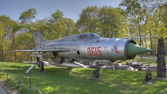 Mig 21 in National Army Museum Warsaw (Rich pick) Tags: museum army 21 poland national hdr mig owek