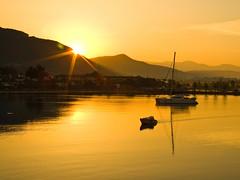 Lets begin... (Nejdet Duzen) Tags: trip travel sea vacation sun holiday hot sunrise turkey boat gulf trkiye deniz sandal akyaka gne tatil gokova gkova turkei scak seyahat mula gndoumu krfez abigfave