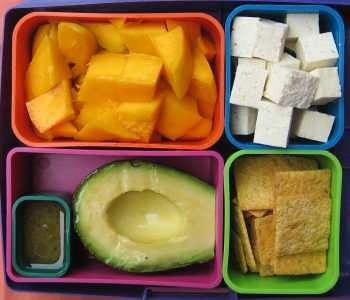 Avocado and Mango Lunch by Laptop Lunches