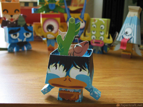Japanese Monster Papercrafts - Kappa