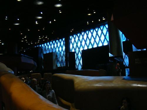 Vista del interior del museo