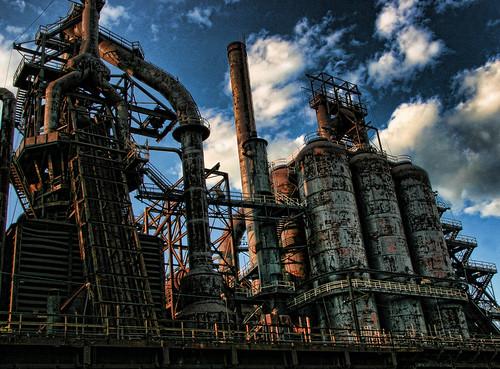 フリー画像| 人工風景| 建造物/建築物| 工場の風景|        フリー素材|