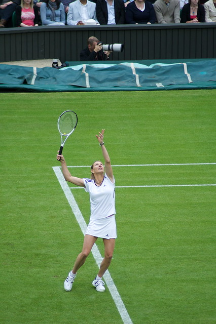 Great to see her back on Centre Court! by Mark Brocklehurst