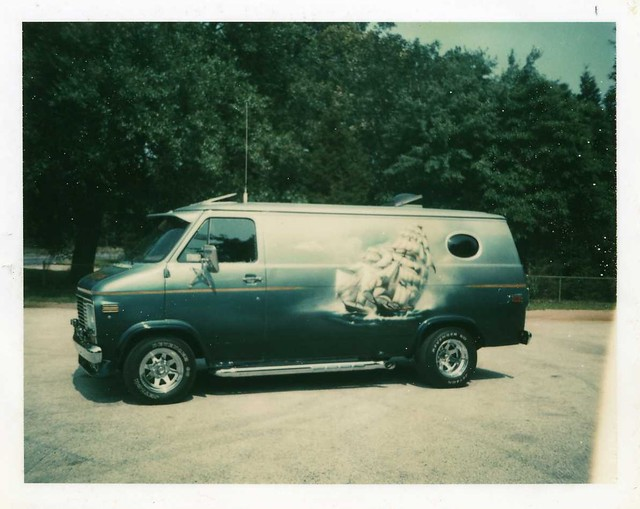 show truck 1974 chevy van custom
