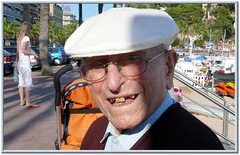 Local Gentleman (HiltonT) Tags: portrait face spain lloretdemar elderlygentleman castelldesantjoan