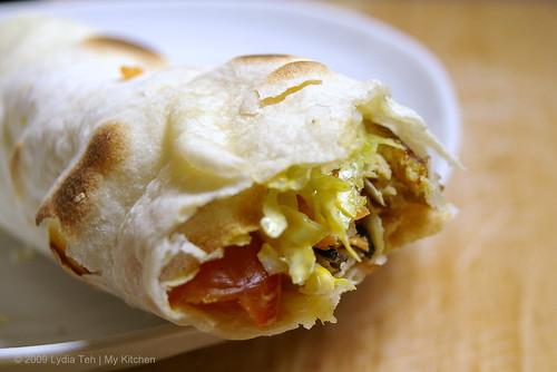 Chapatti Sandwich Roll