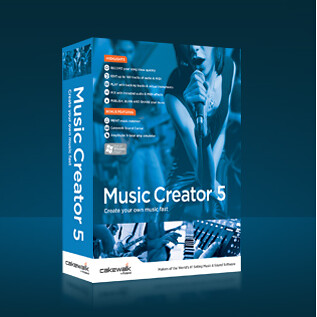 Cakewalk Music Creator 5 (1 dvd)