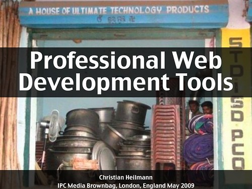 professional web development tools
