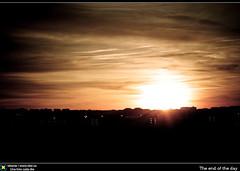 The end of the day (Berts @idar) Tags: españa atardecer carretera zaragoza cielo ef50mmf18ii z40 espaa canoneos40d idearas cielosdezaragoza cuartocinturn cuartocinturón