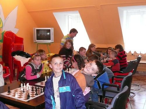 Kinderen op Poolse school