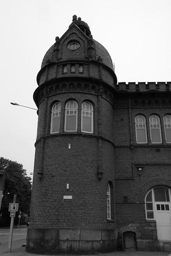 Hafengebäude Eckturm