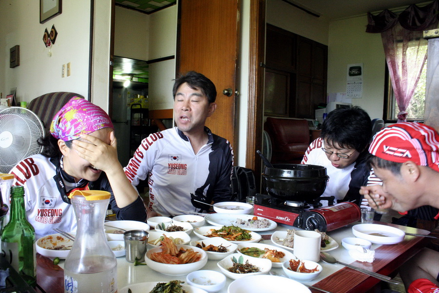 In the od-ori tang restaurant(2)