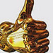 Gold Thumb Award