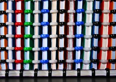Atoma Notebooks (Alesa Dam) Tags: blue red orange white black green oneaday topv111 canon paper notebook office topv333 photoaday circa officesupplies pictureaday project365 atoma 400d canoneos400d 40365 thepinnacle20120709
