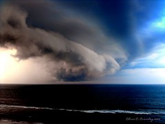 Force Of Nature (Chris C. Crowley) Tags: ocean sea sky storm clouds waves force florida menacing priceless scenic atlantic spooky thunderstorm daytonabeach powerful immense frightening dense thunderhead stormfront daytonabeachshores thecloudappreciationsociety chriscrowley stormwall wallofclouds onlythebestare raccontarelanatura celticsong22 naturalexcellence luminosityandlight grandcoquinagetaway