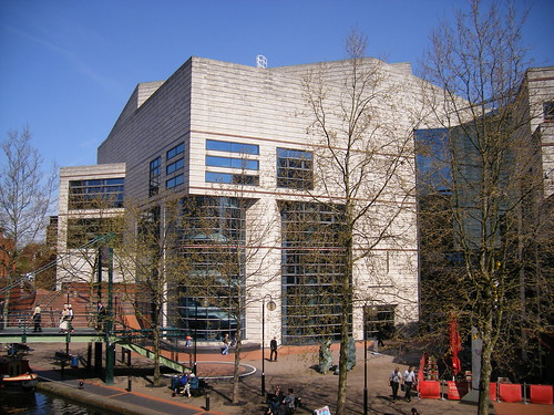 the ICC from Brindley Place
