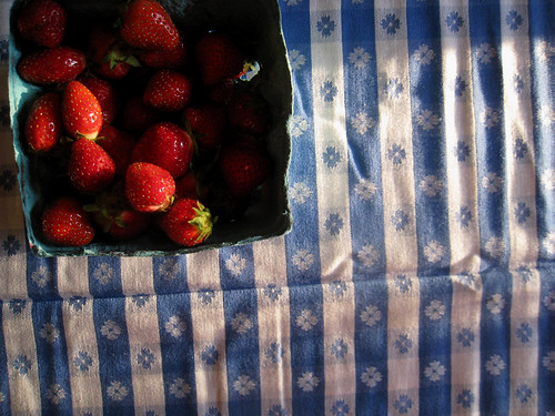 The Strawberries That Inspired The Salad